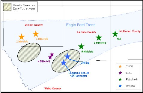 Eagle Ford Shale Map Leasehold